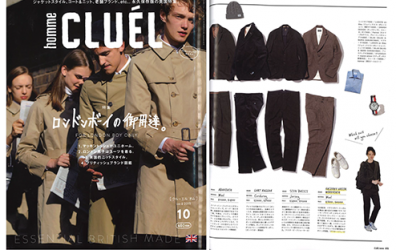 CLUEL Homme Magazine – Issue 10 – 10th September 2015