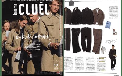 CLUEL Homme Magazine – Issue 10 – 10th September 2015